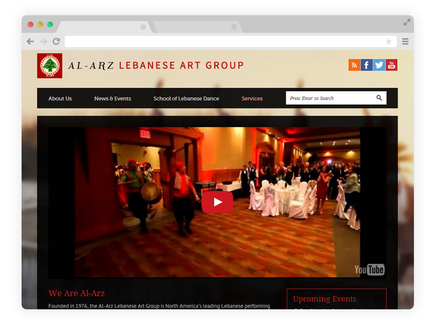 Al-Arz Lebanese Art Group | Dance Troupe/School