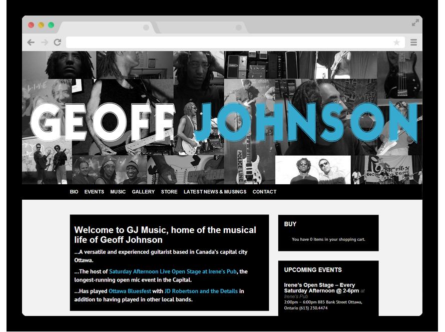 Geoff Johnson | Musician