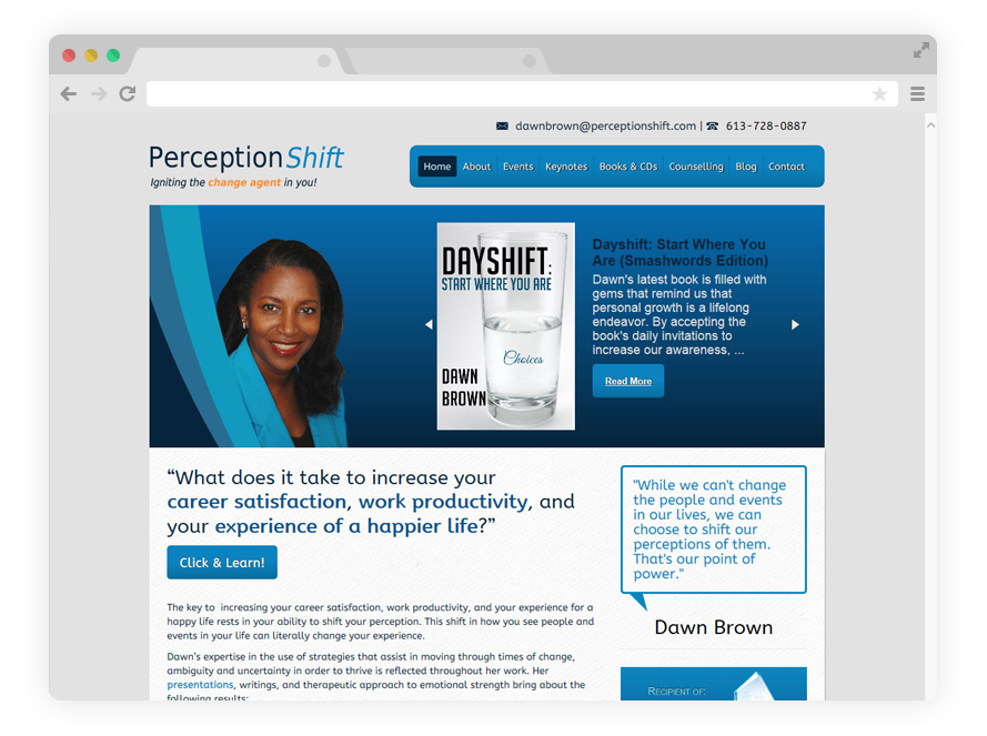 Perception Shift | Inspirational Workshops